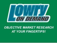 Lowry onDemand - Objective Market Research at Your Fingertips!